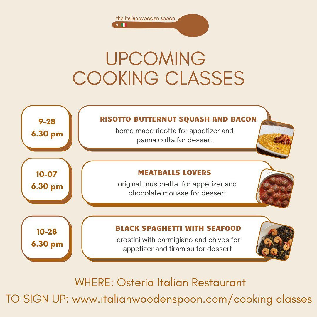 The Italian Wooden Spoon Cooking Classes