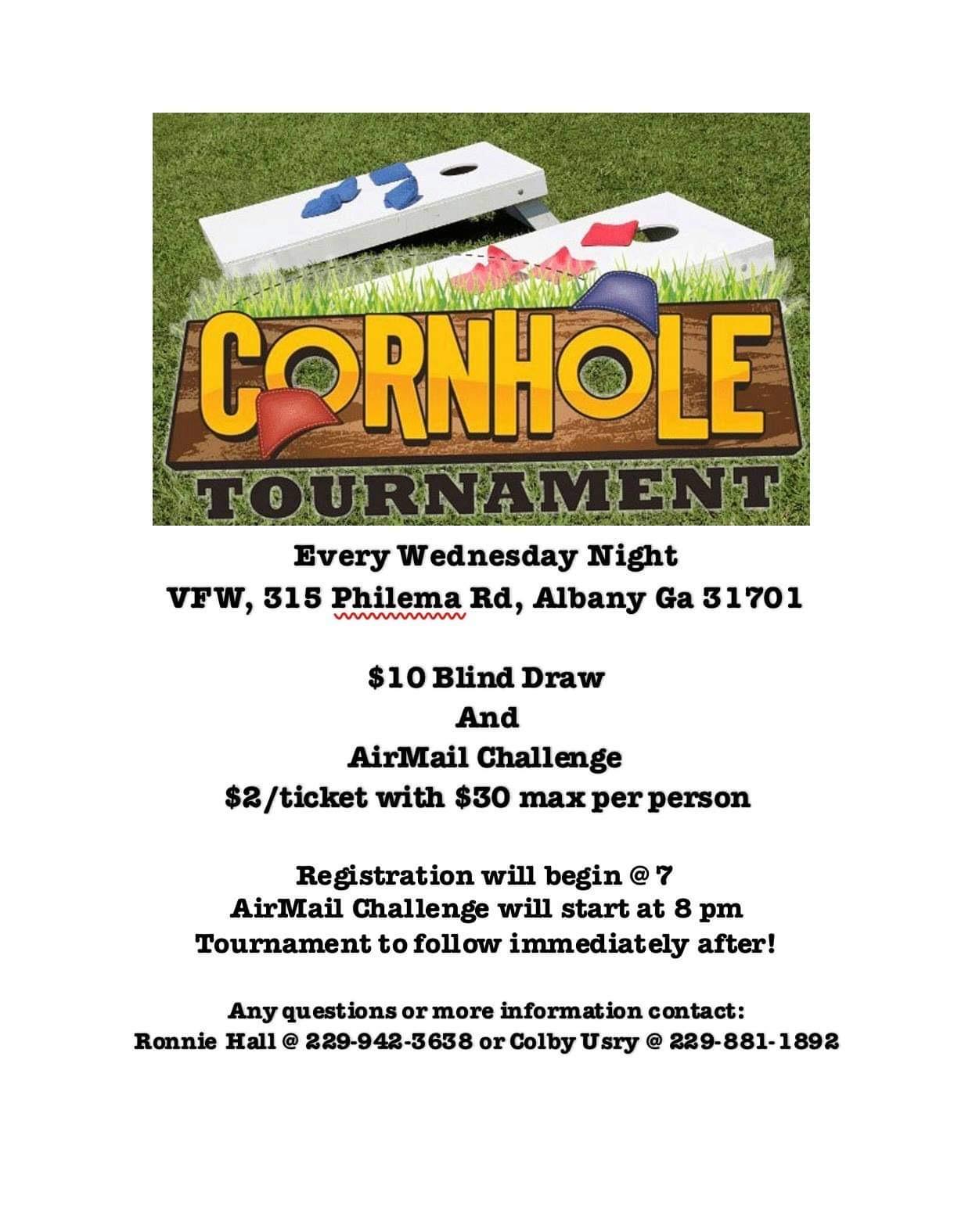 VFW Cornhole Tournament