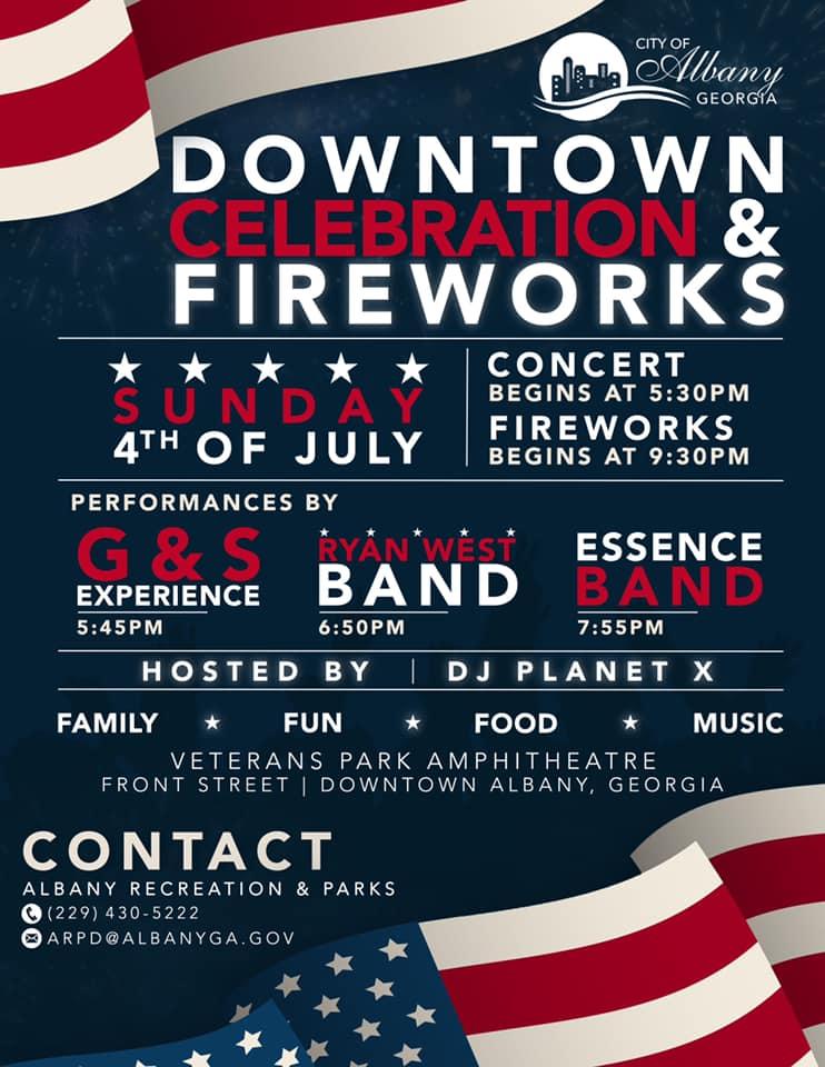 Downtown Celebration & Fireworks