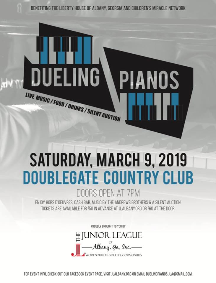 Junior League's Dueling Pianos