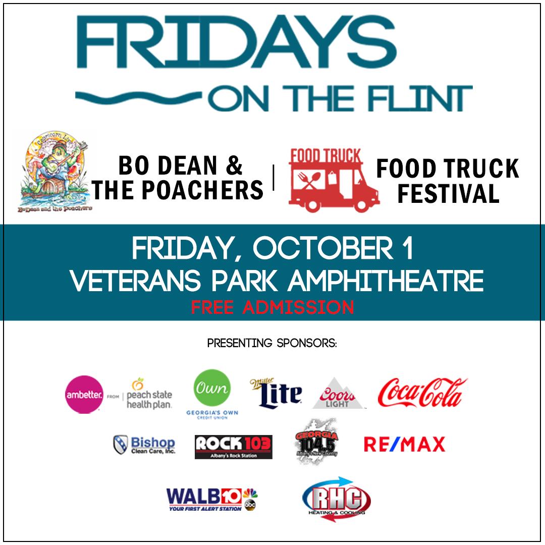 Fridays On The Flint: Food Truck Festival