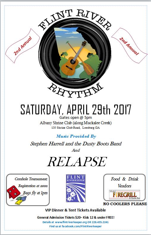 2nd Annual Flint River Rhythm Music Festival