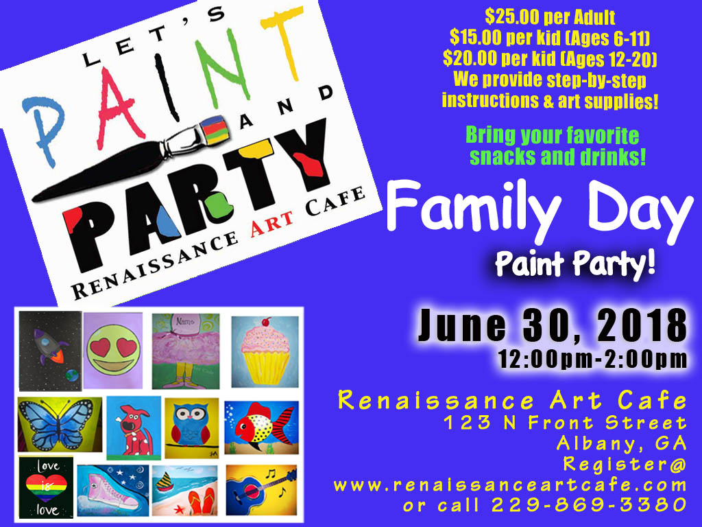 Family Day Paint Party!
