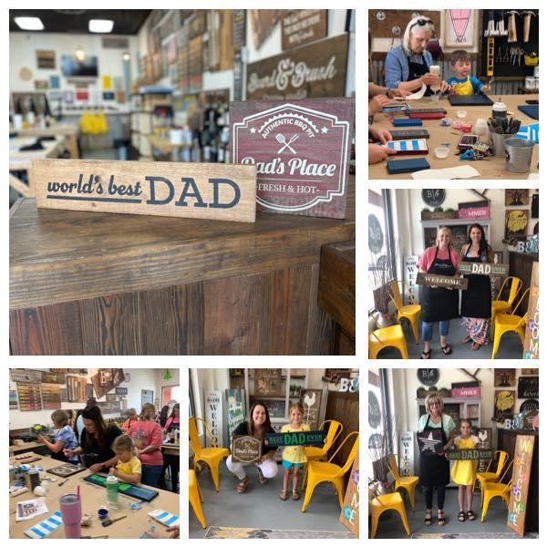 Fathers Day Make & Take Workshop