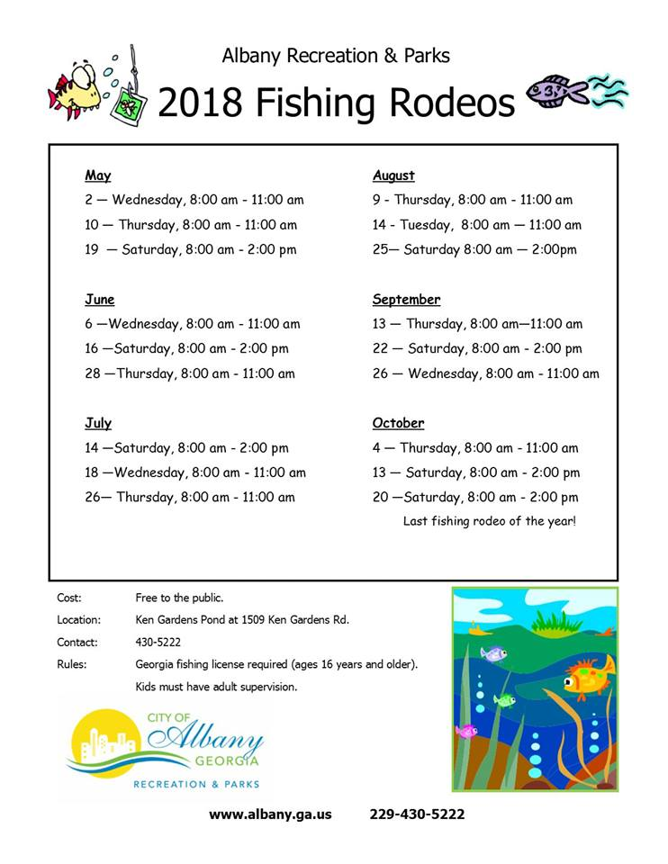 2018 Fishing Rodeo