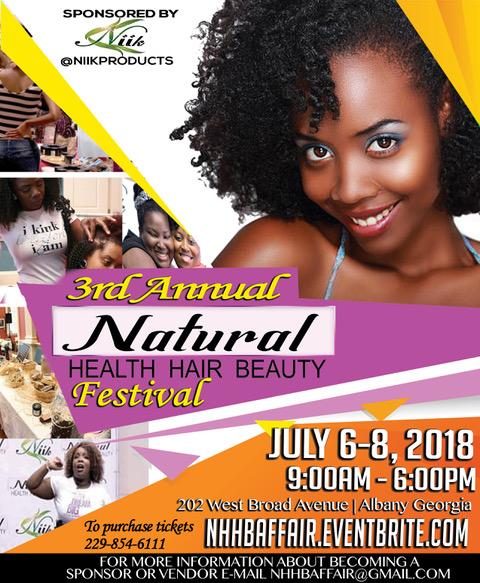 3rd Annual Natural Health, Hair, & Beauty Festival