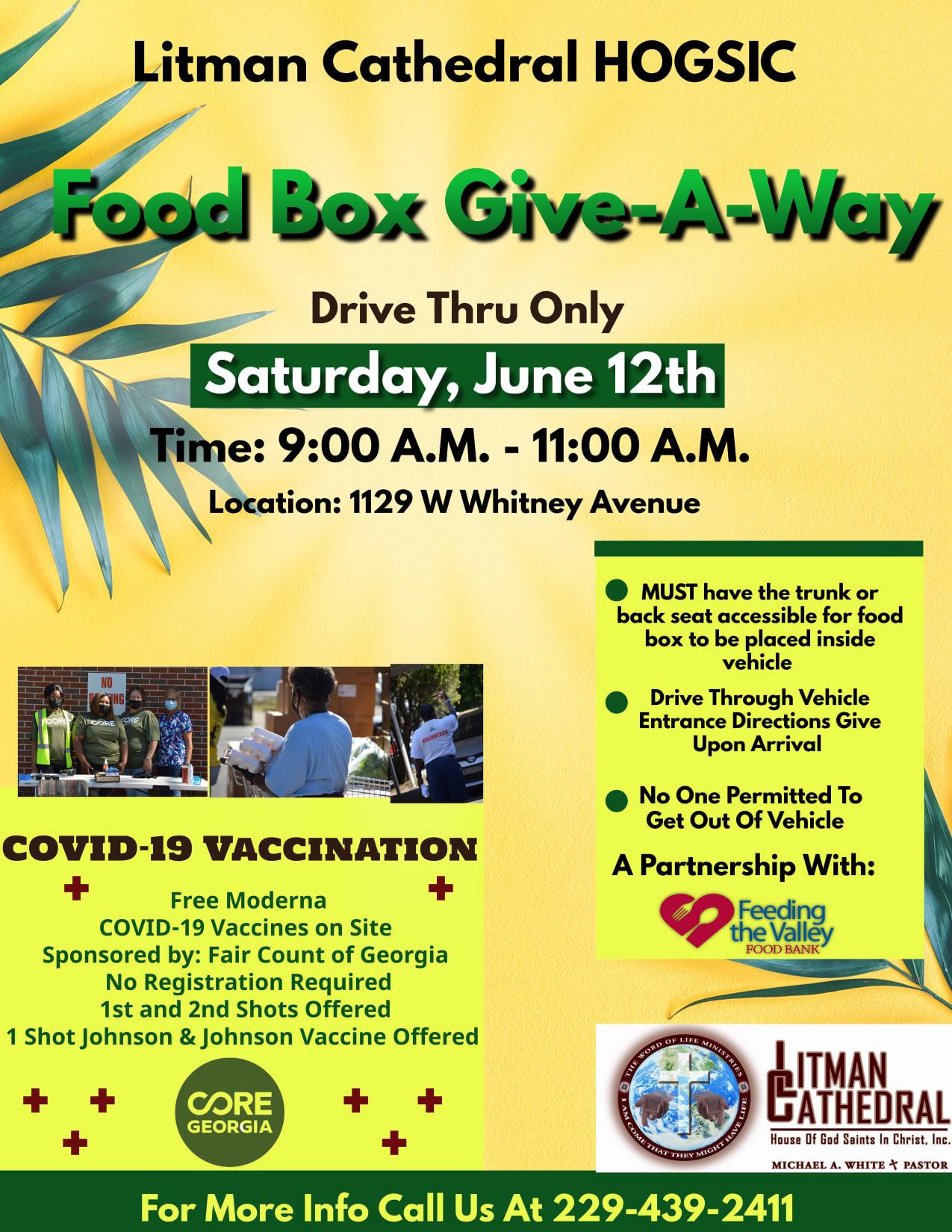 Food Box Give-A-Way