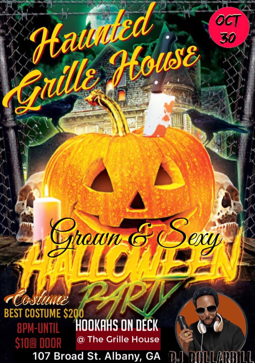 Haunted Grille House Halloween Party