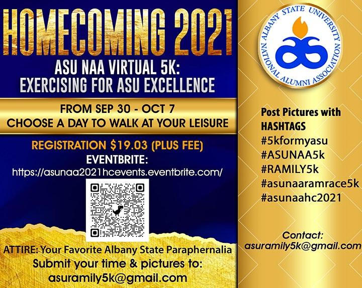 ASU NAA Virtual 5K