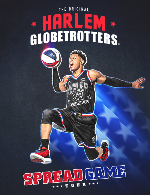 Harlem Globetrotters Spread Game Tour