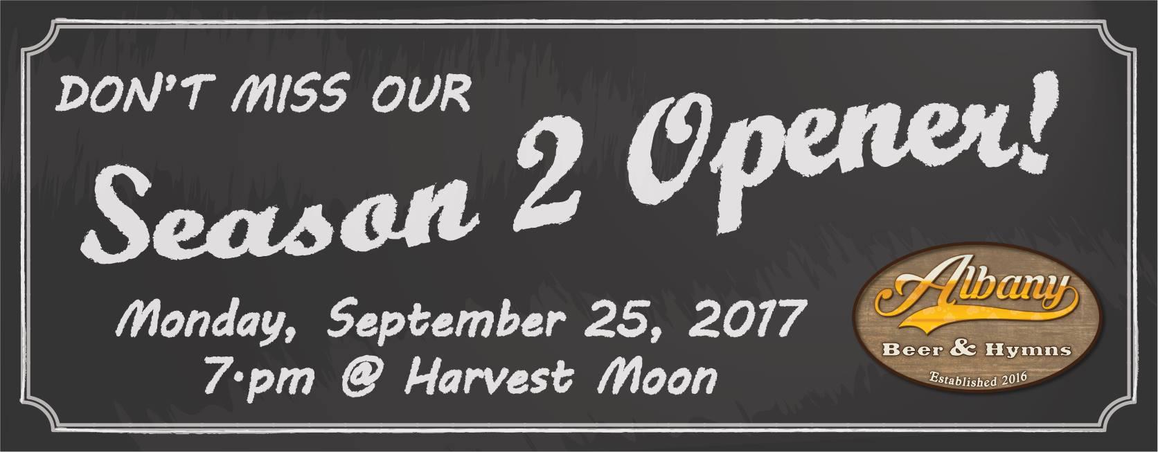 Albany Beer and Hymns: Season Two Opener