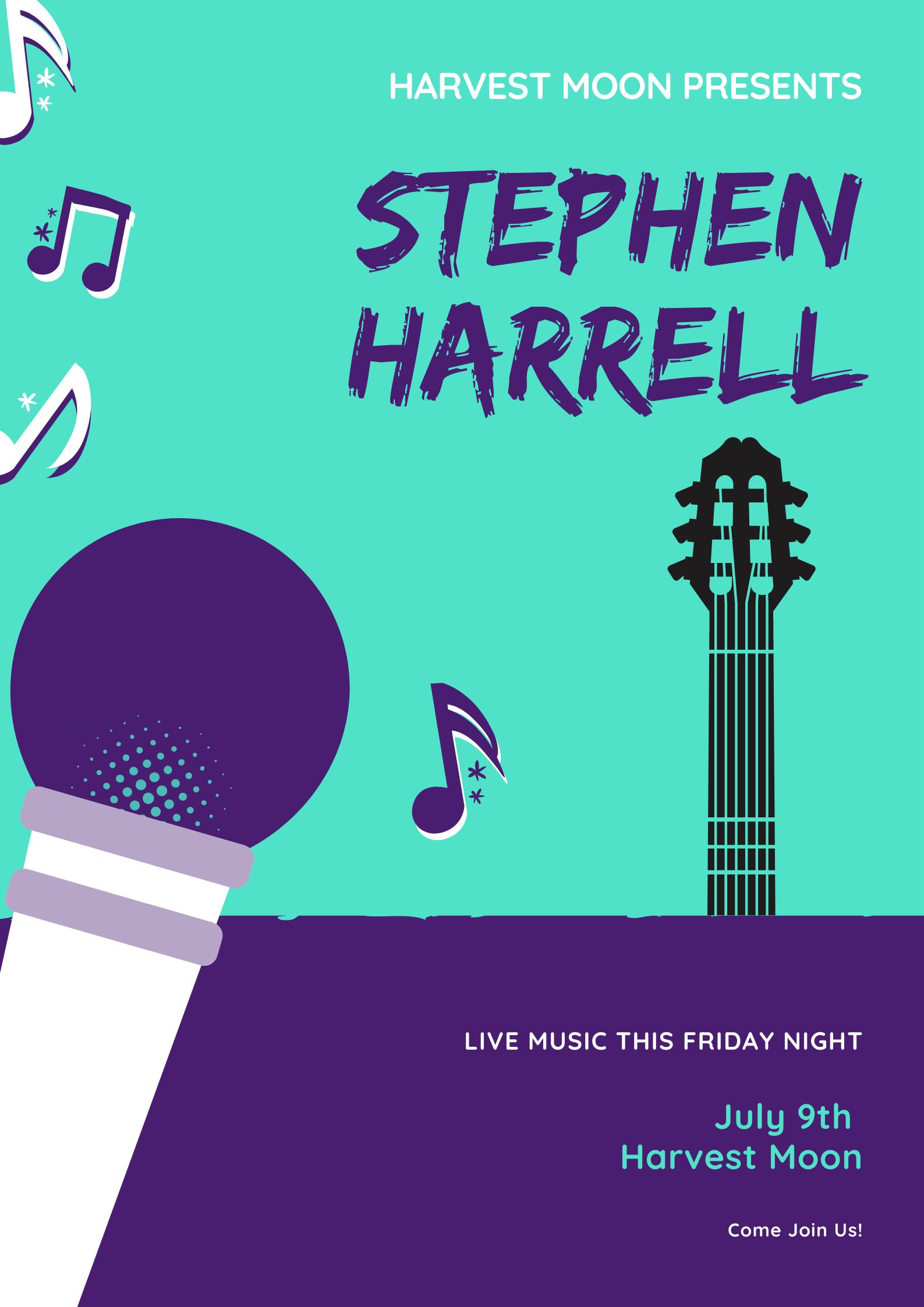 Stephen Harrell Live
