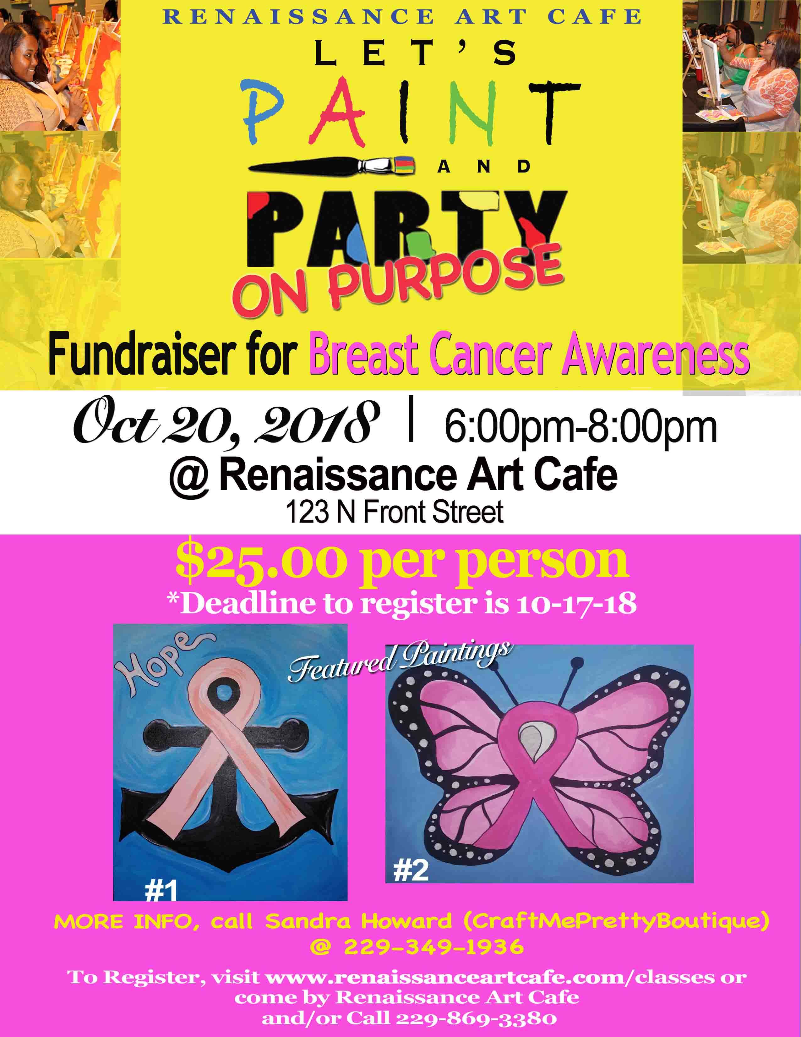 Fundraiser for Breast Cancer Awareness at RAC