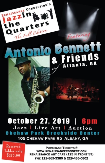 Renaissance Connection's Jazzin the Quarters: The Fall Edition