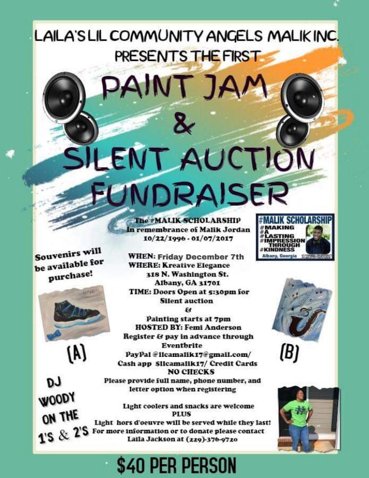 Paint Jam & Silent Auction Fundraiser