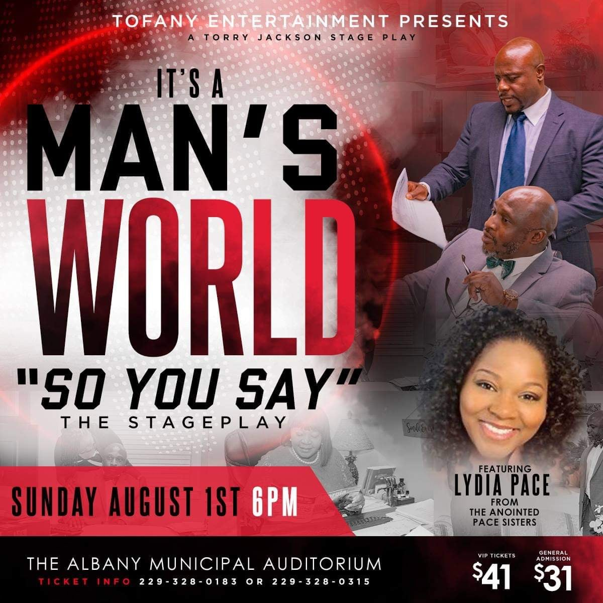 It's A Man's World Stageplay