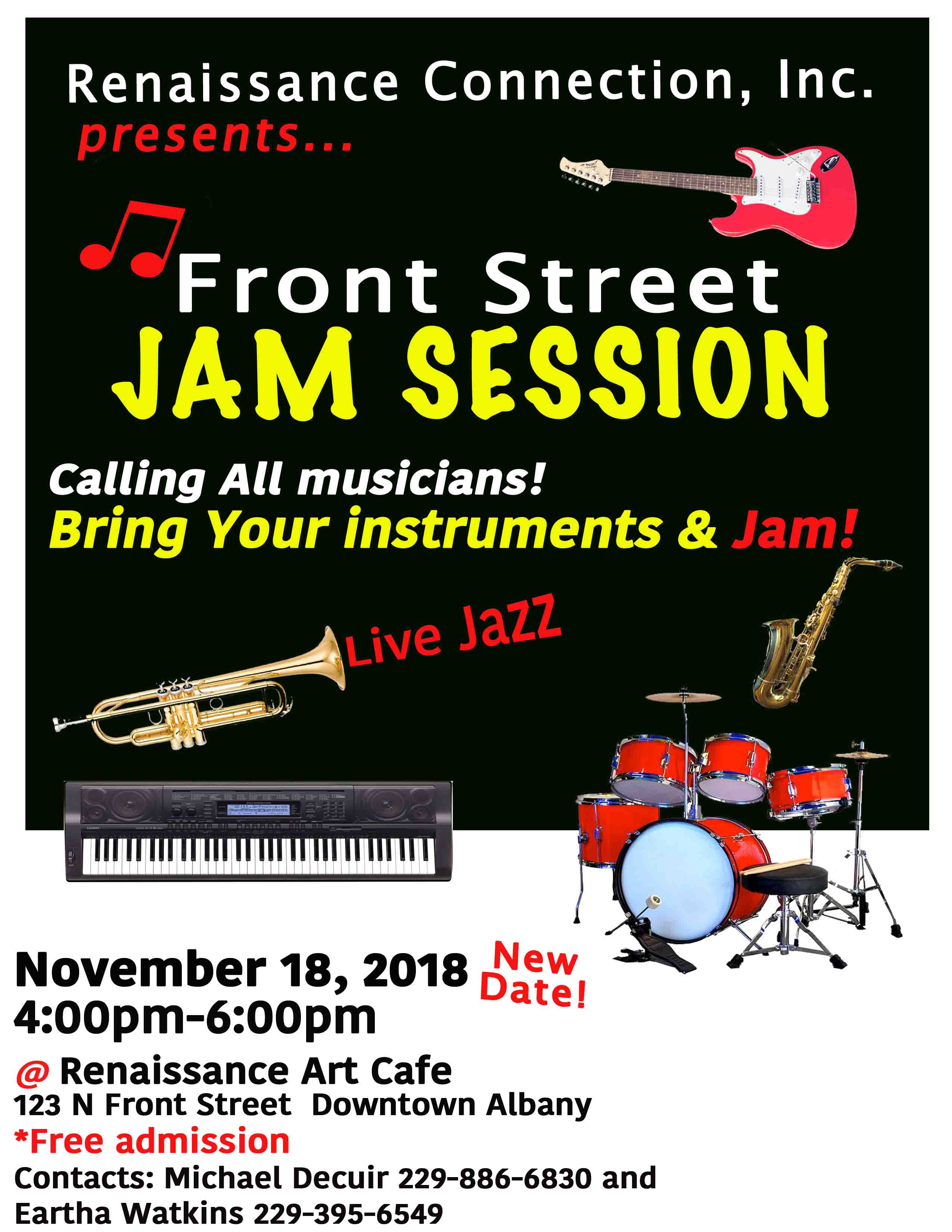 Front Street Jam Session