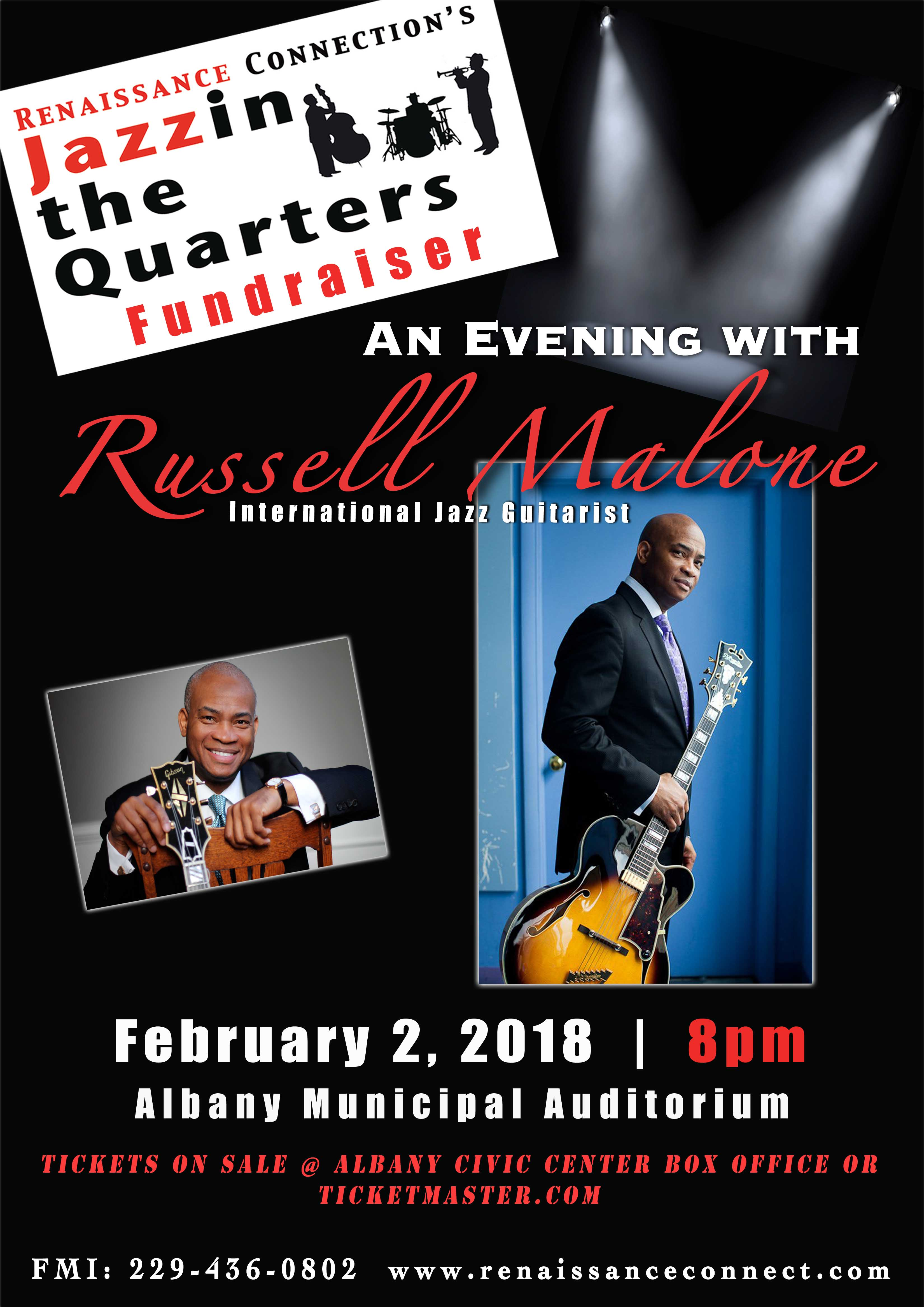 Renaissance Connection's Jazzin the Quarters: An Evening with Russell Malone