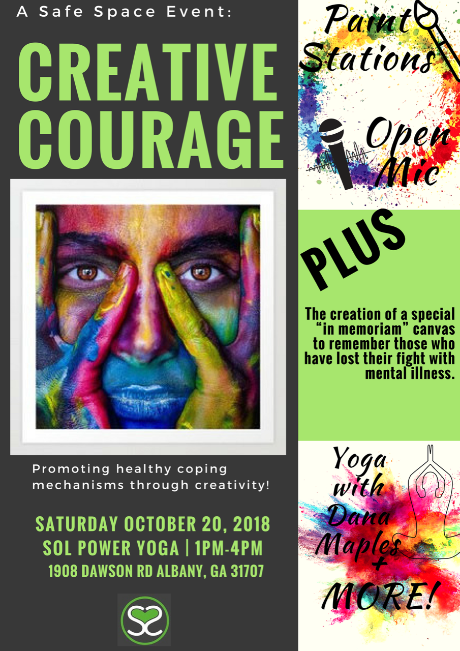 Creative Courage: A Safe Space Event
