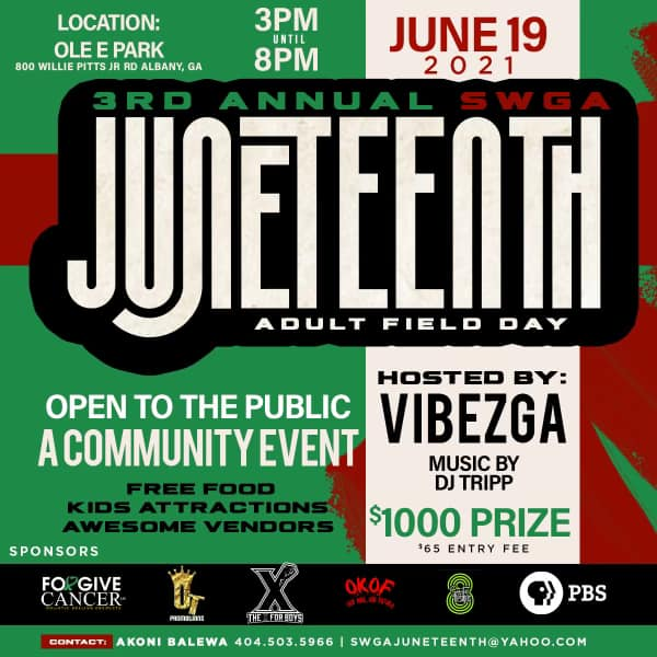 Juneteenth Adult Field Day
