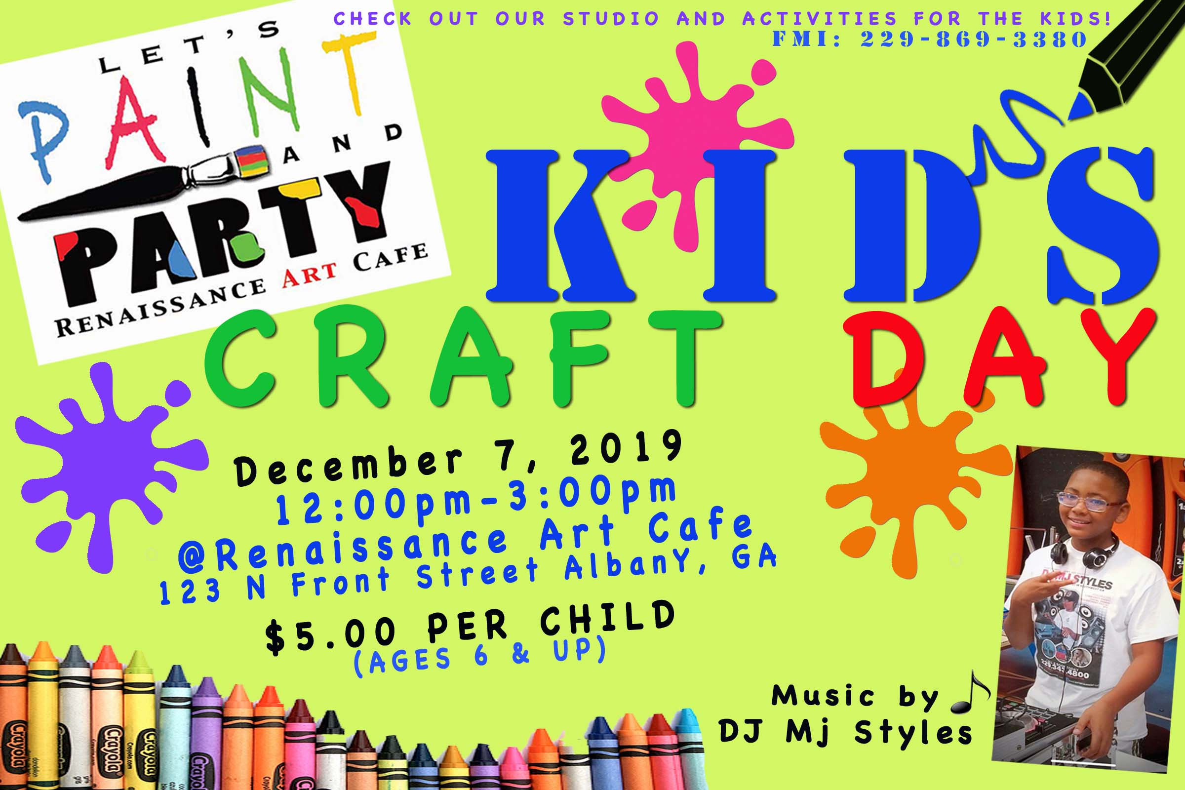 Kids Craft Day!