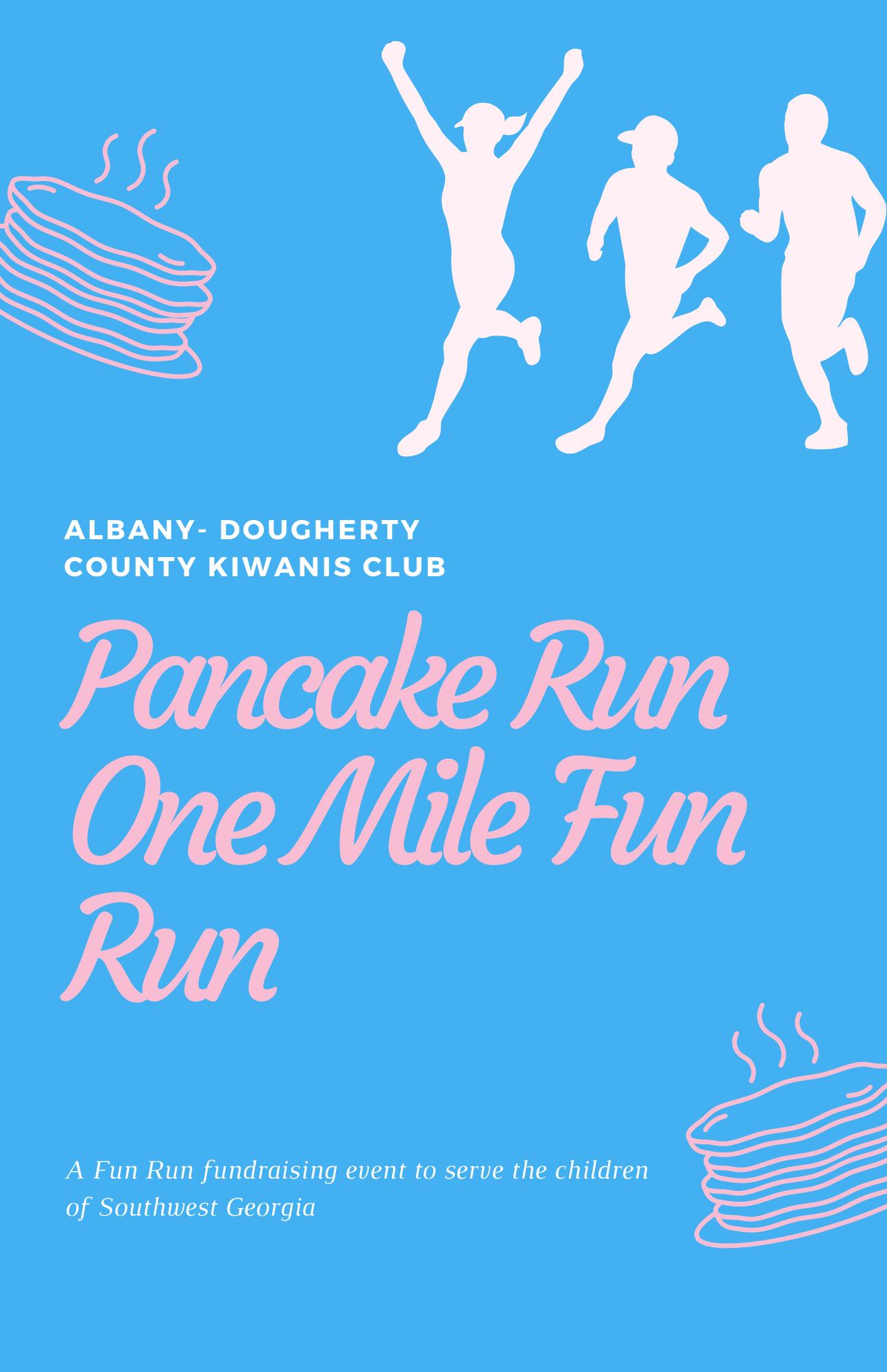 Pancake Run One Mile Fun Run