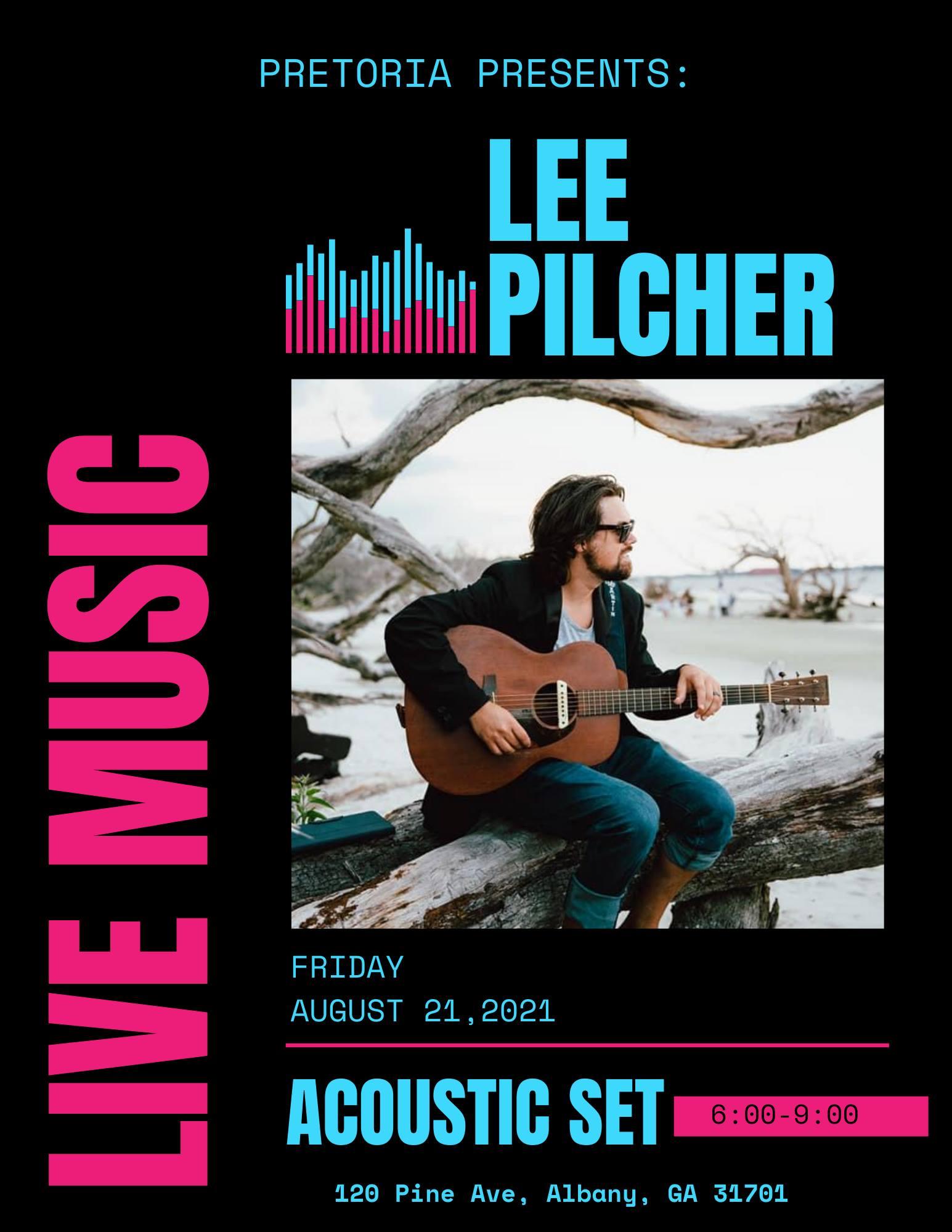 Pretoria Fields Live Music: Lee Pilcher