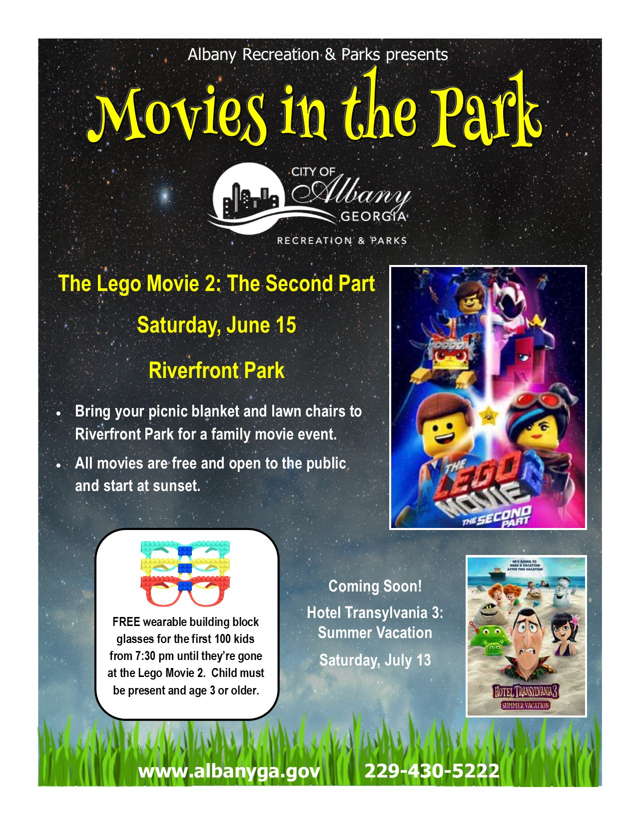 Movies in the Park: The Lego Movie 2: The Second Part