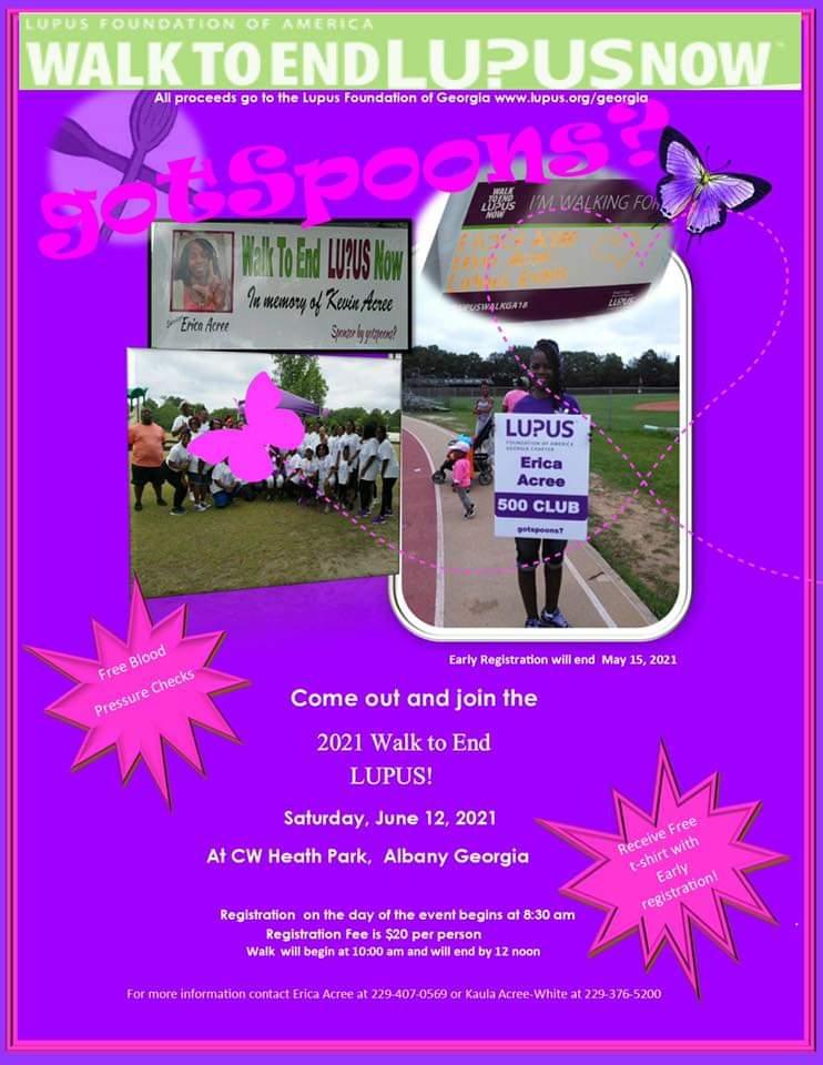 Lupus Walk Fundraiser