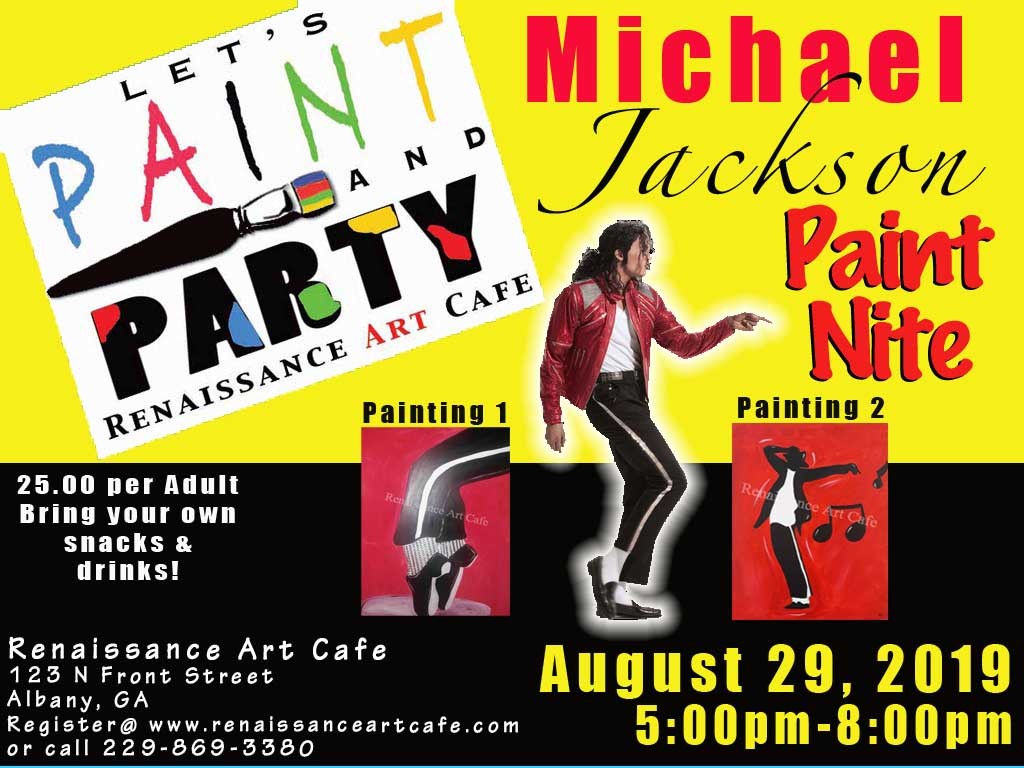 Michael Jackson Paint Party
