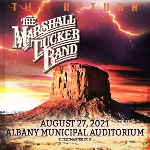 The Marshall Tucker Band Returns To Albany Municipal Auditorium In Albany GA On August 27