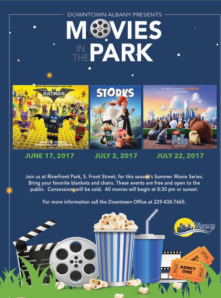 Downtown Albany Presents Movies in the Park!