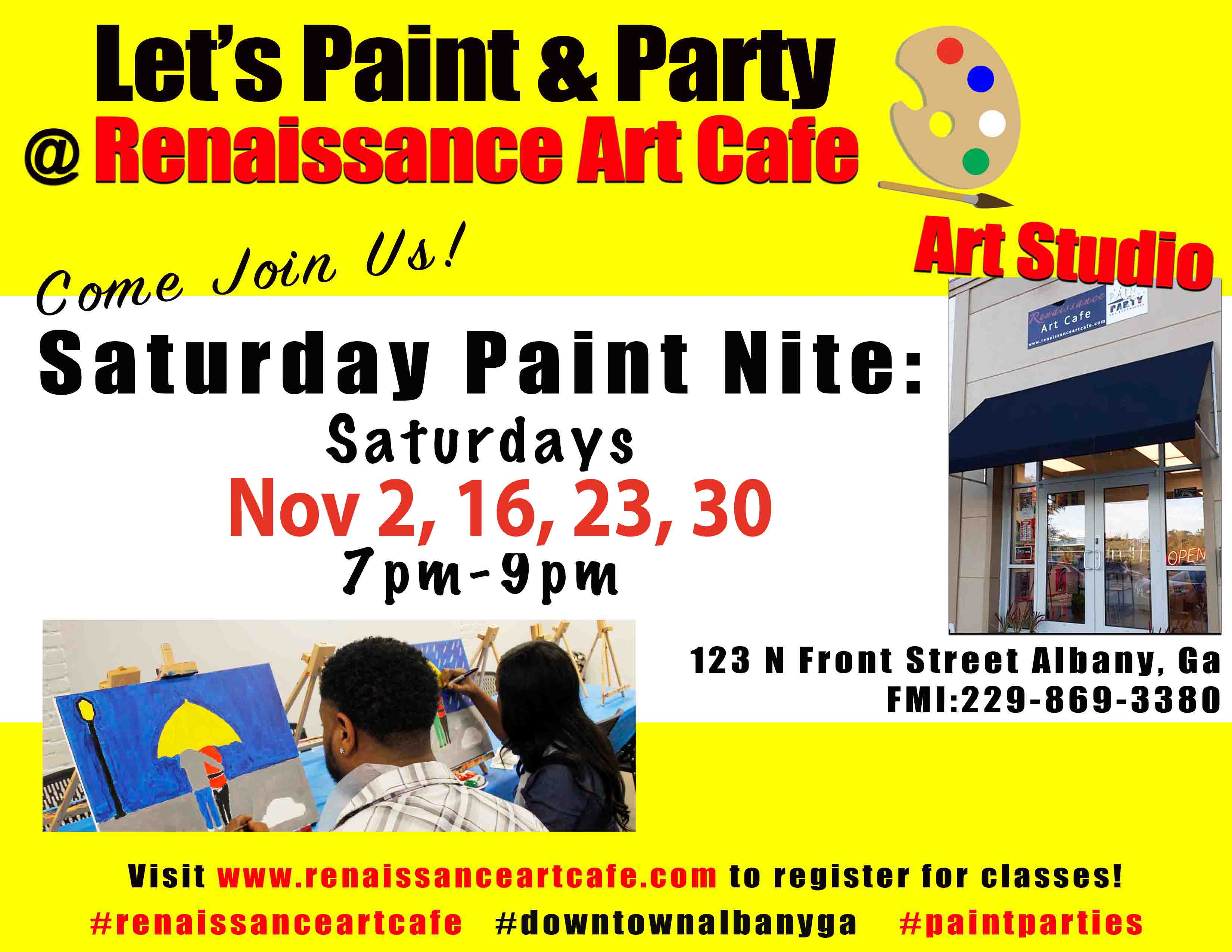 Saturday Paint Nite