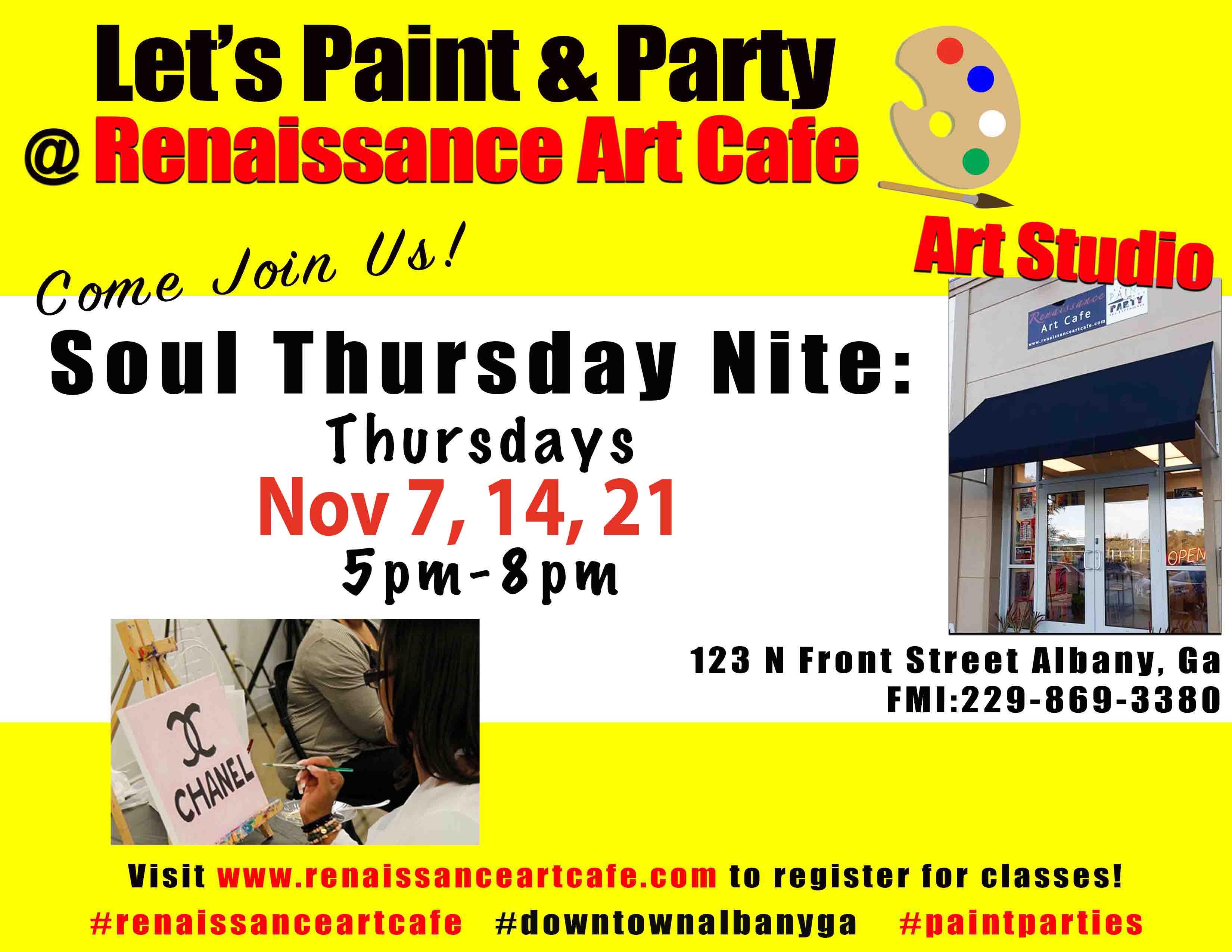 Soul Thursday Paint Nite