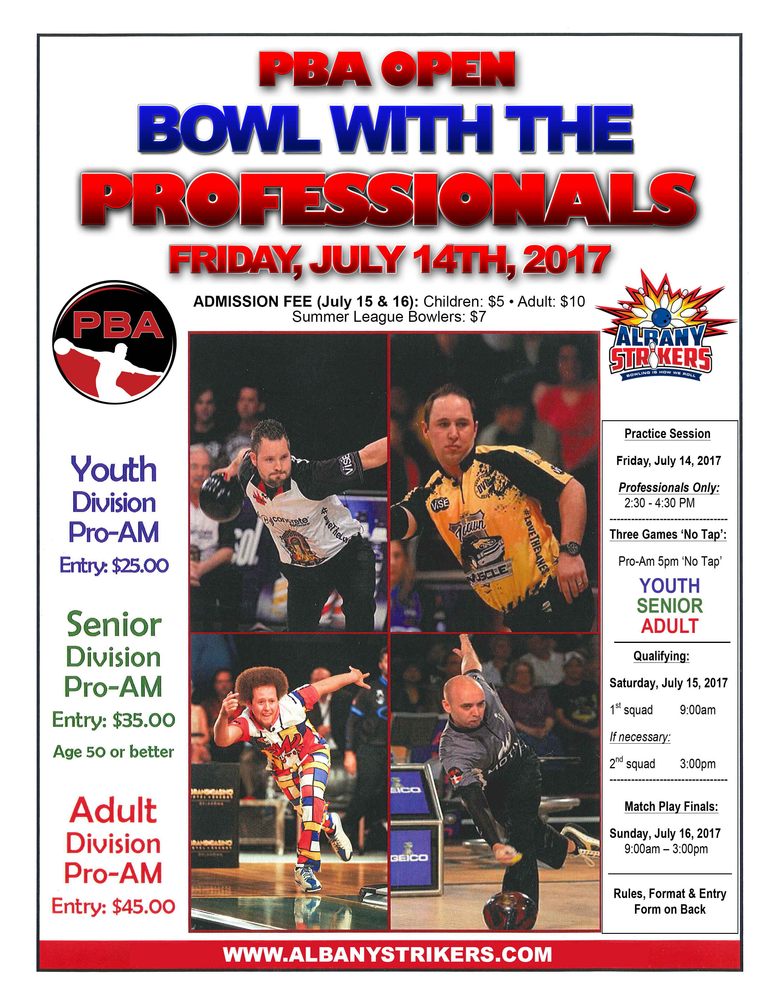 PBA Open Bowl with the Professionals
