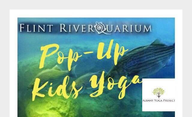 Pop-Up Kids Yoga Flint Riverquarium