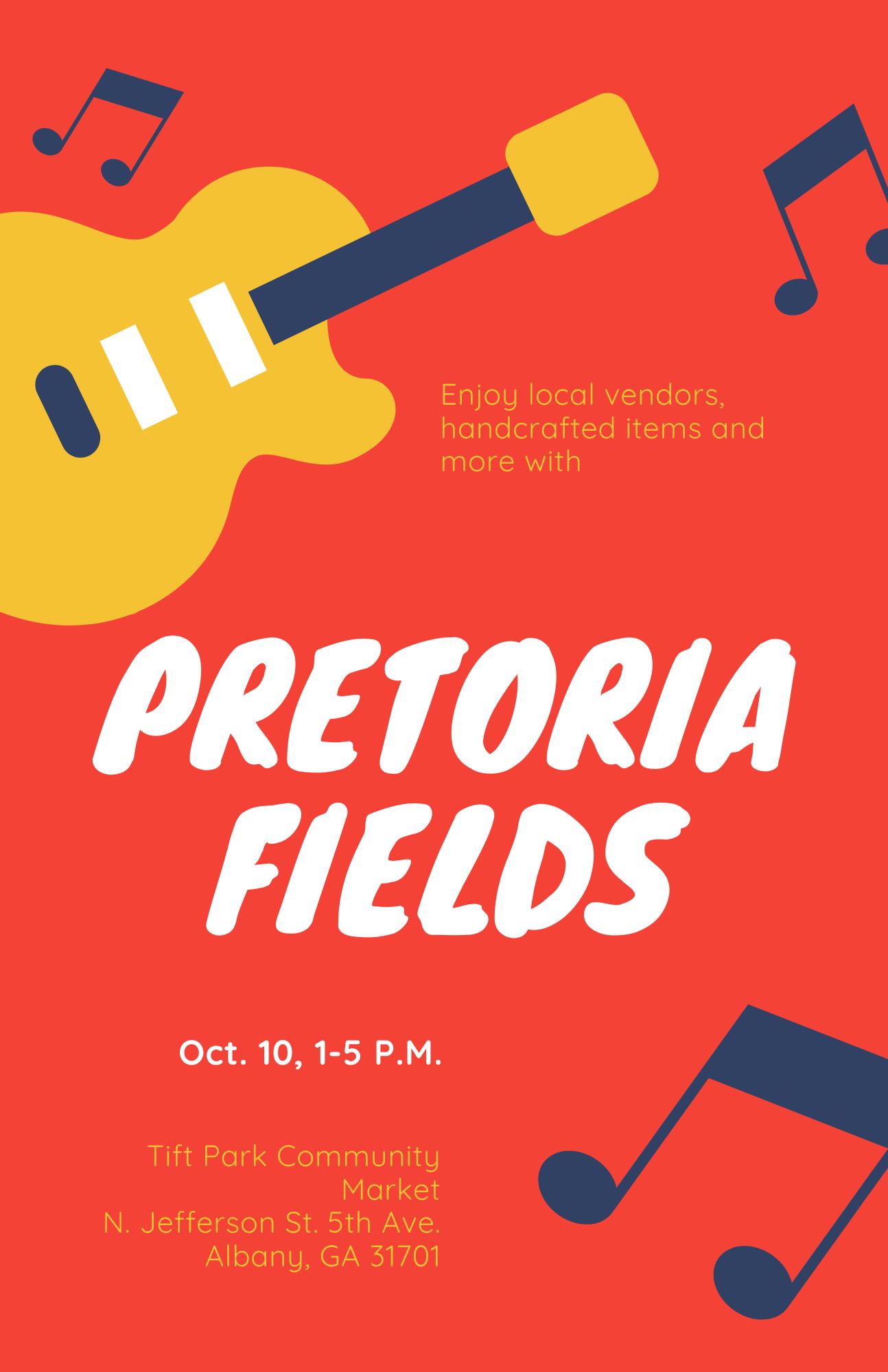 Pretoria Fields at Tift Park Community Market