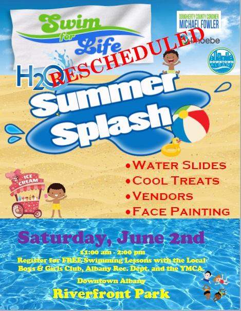 Swim for Life H2O Summer Splash