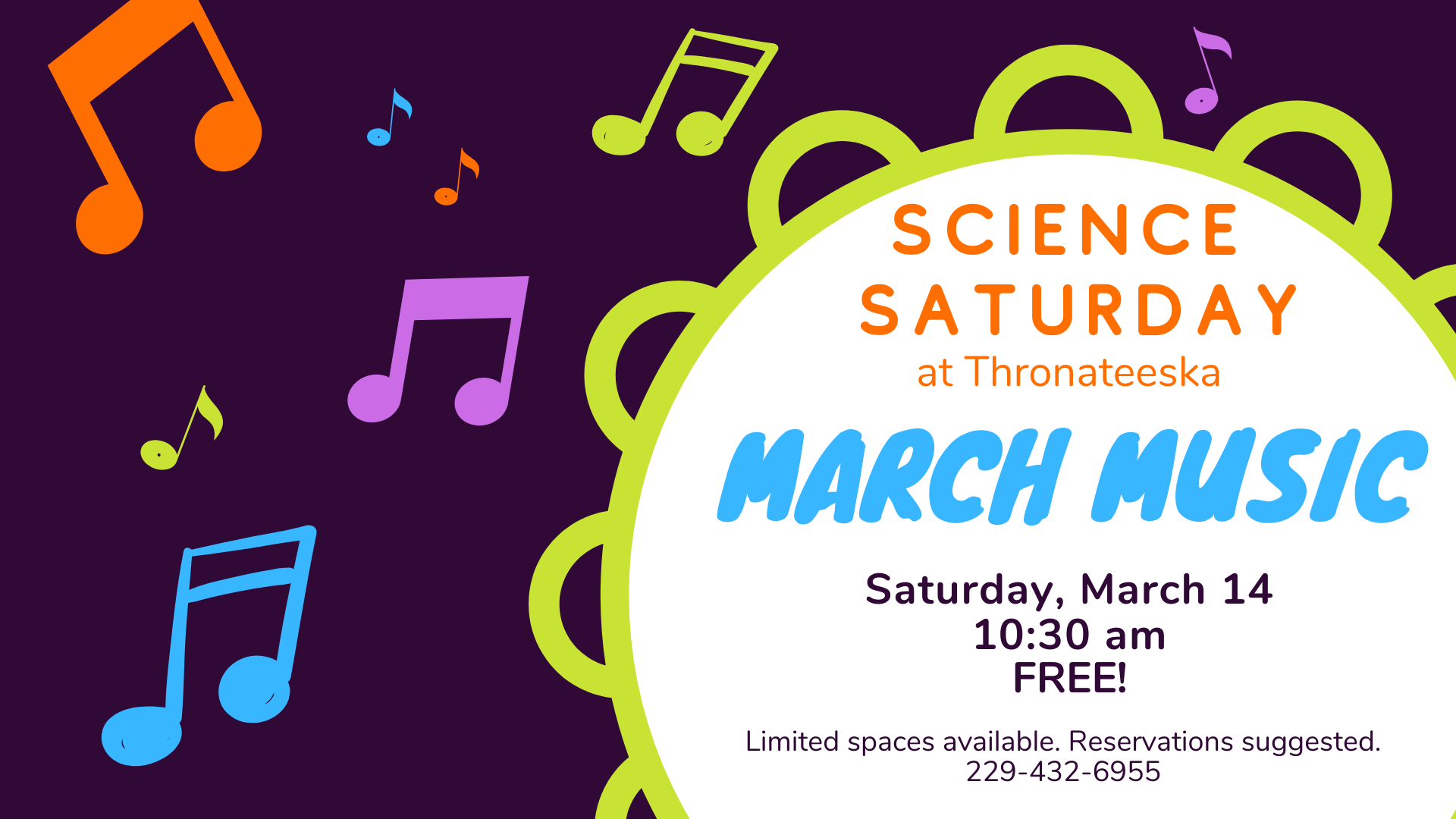 Science Saturday: March Music