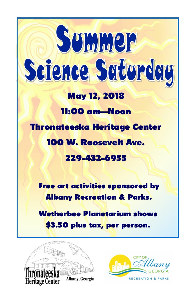 Summer Science Saturday
