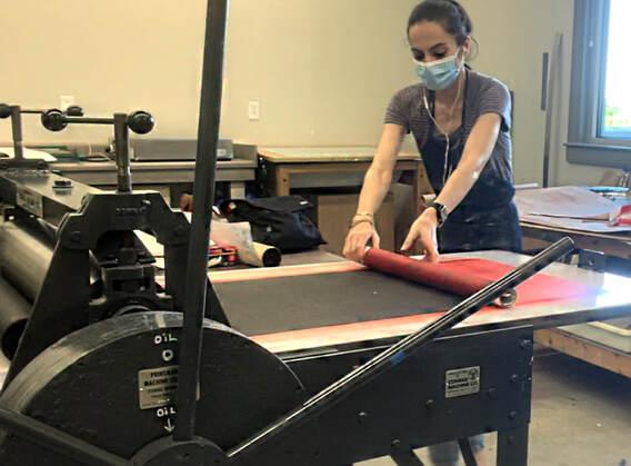 Screen-Printing Workshop Led by Sanaz Haghani