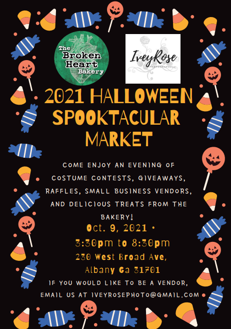 2021 Halloween Spooktacular Market