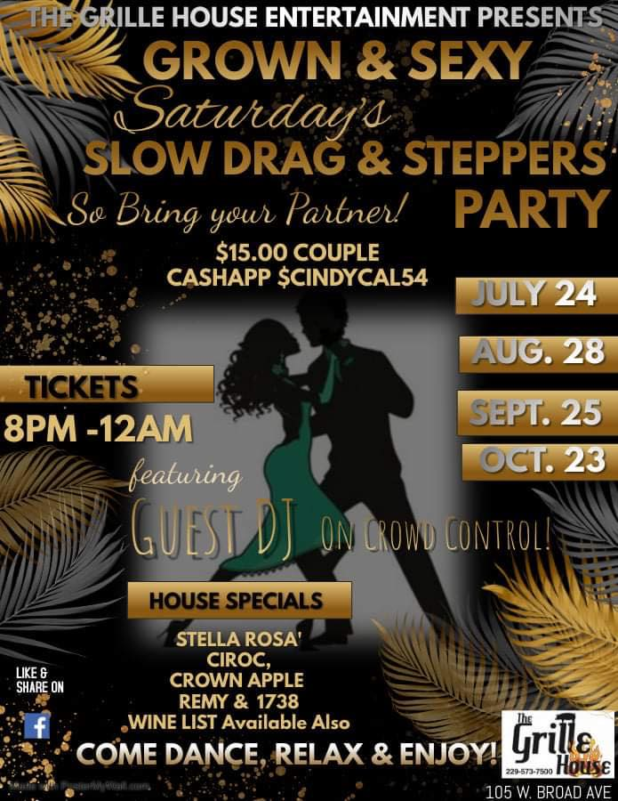 Slow Drag & Steppers Party