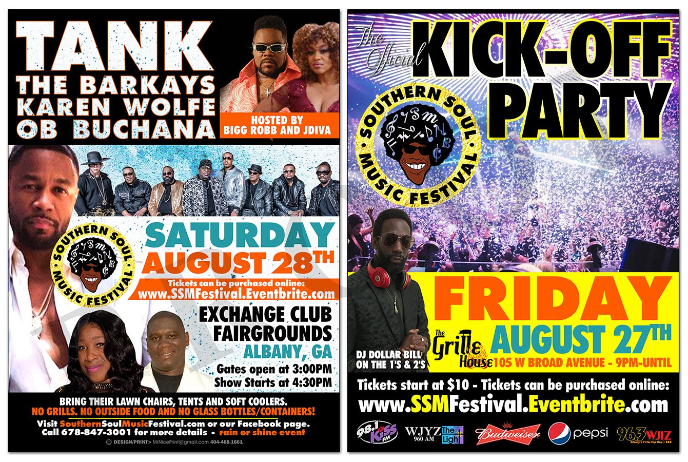 Kick- Off Party and Southern Soul Music Festival