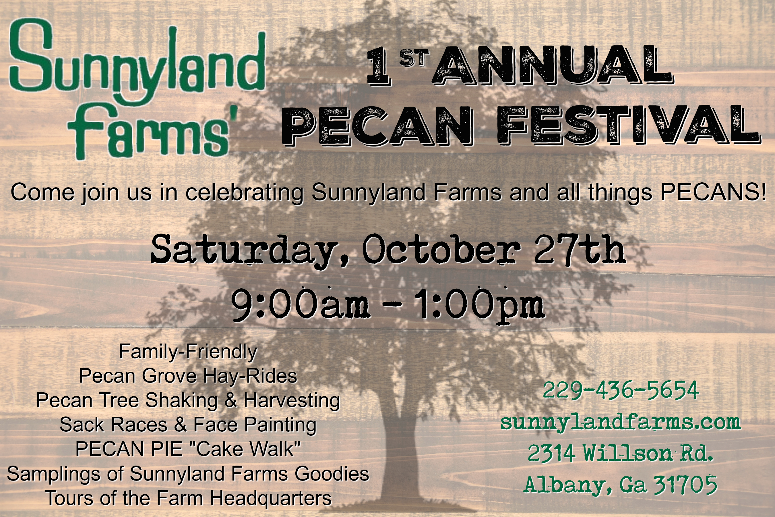 Sunnyland Farms Pecan Festival