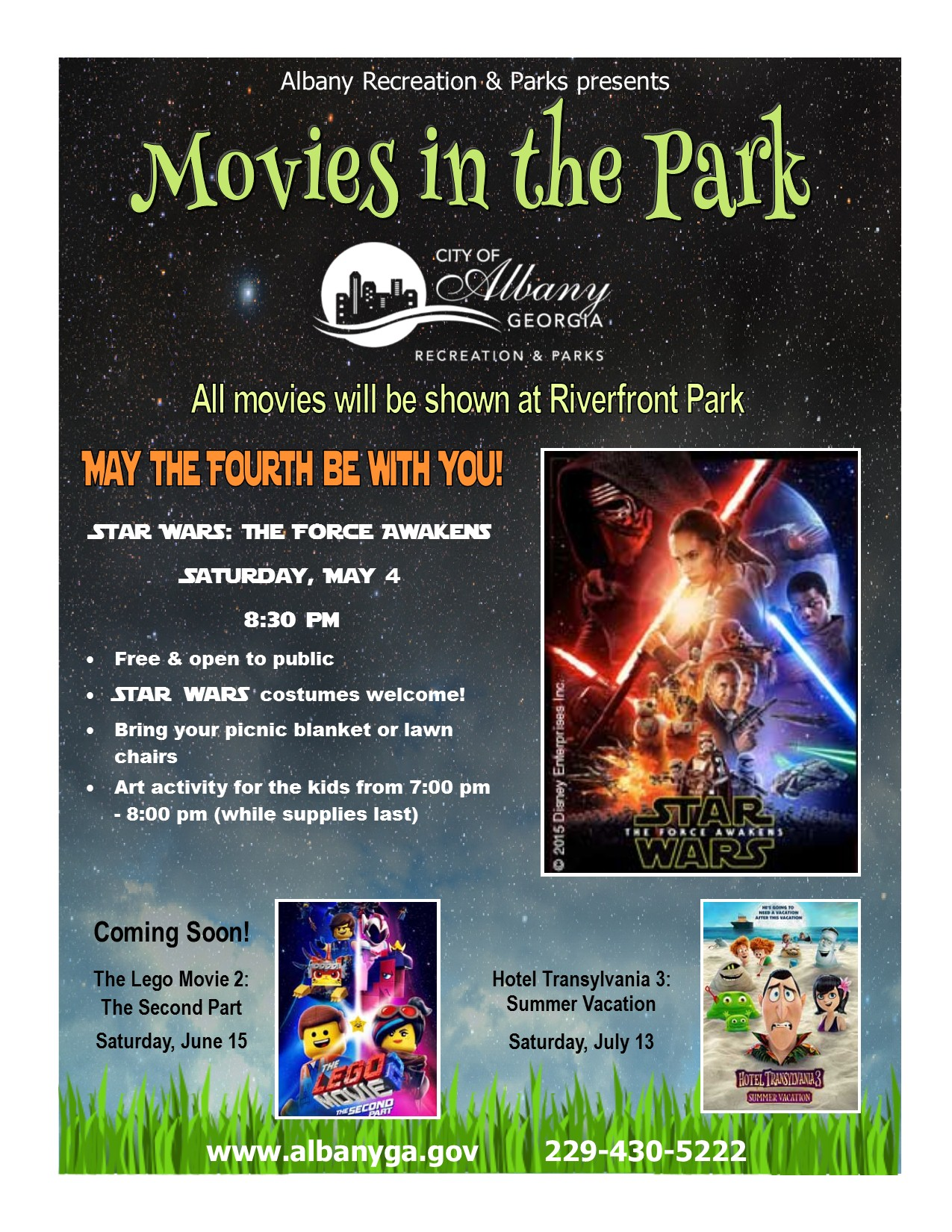 Movies in the Park: The Force Awakens