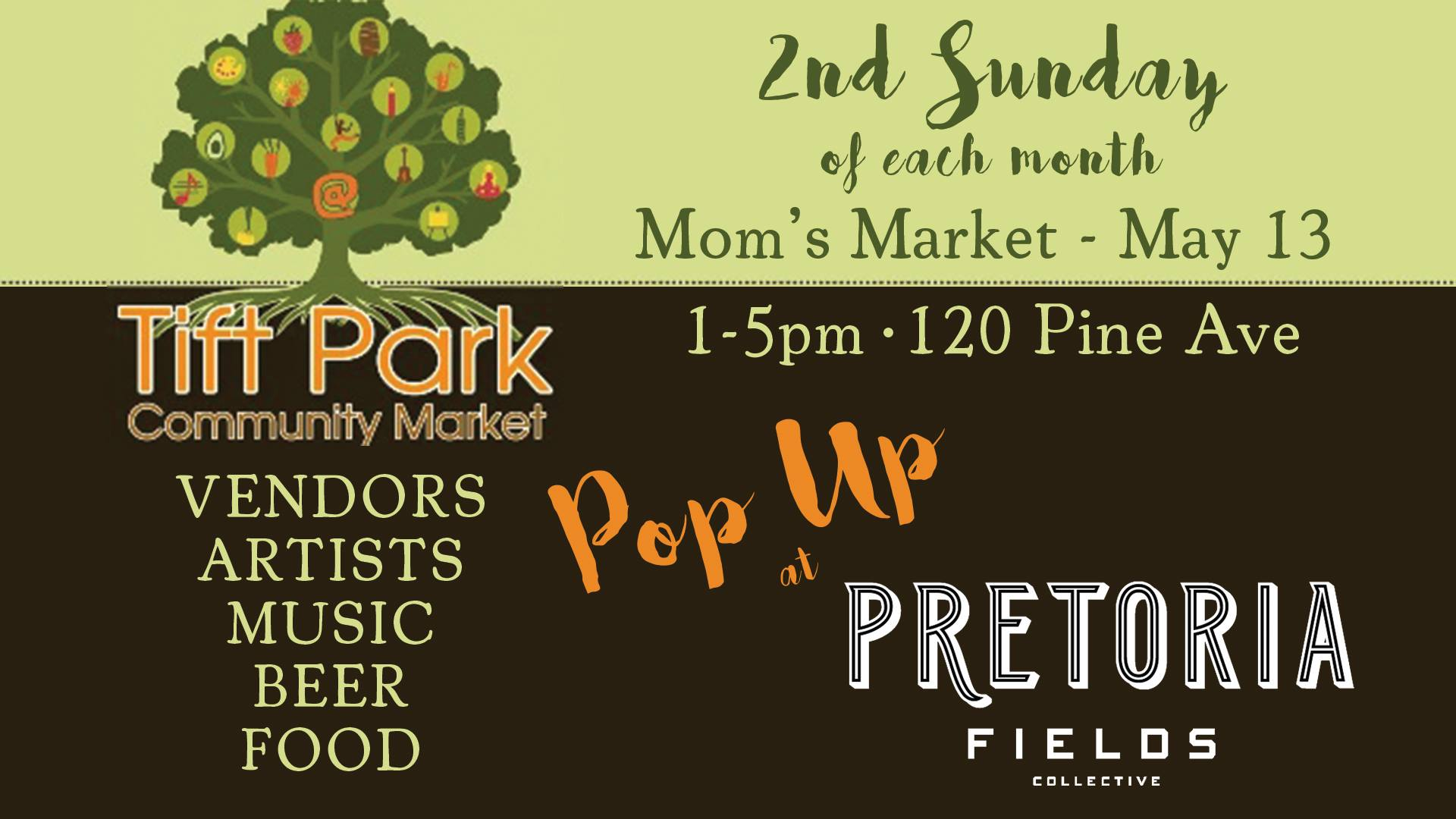 Tift Park Community Market Pop-Up at Pretoria!