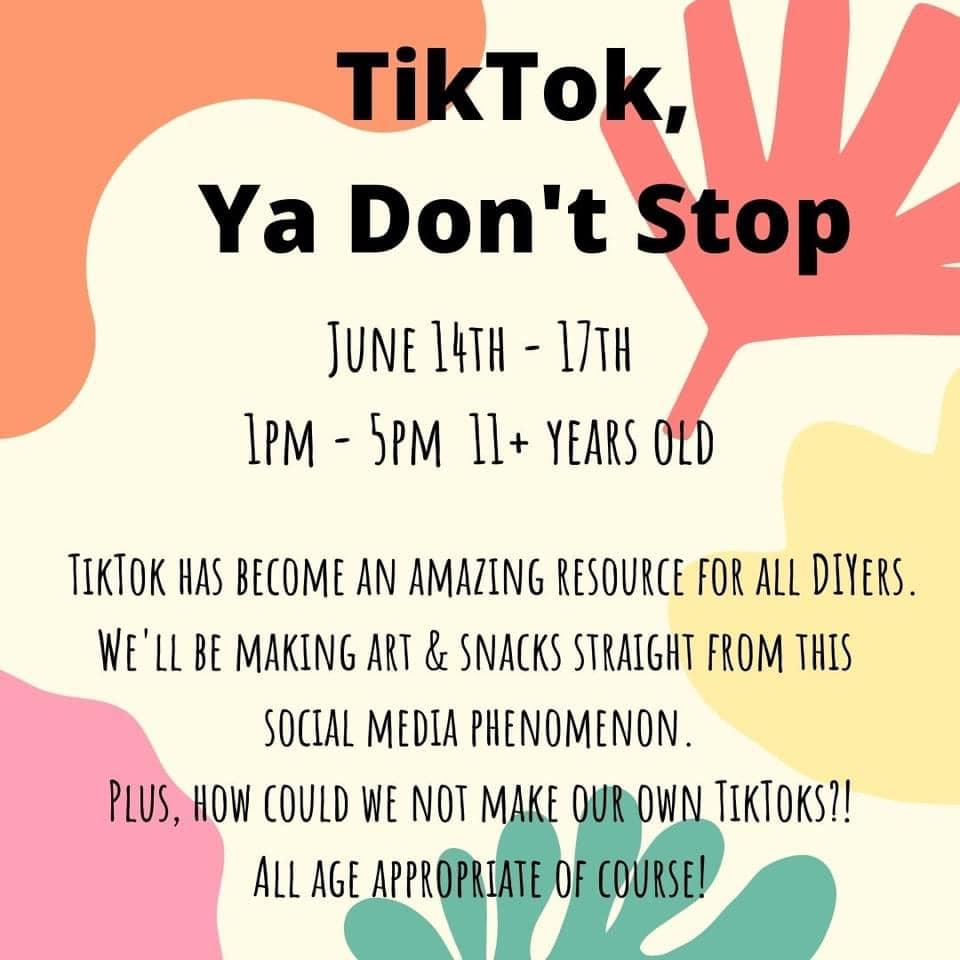 TikTok, Ya Don't Stop