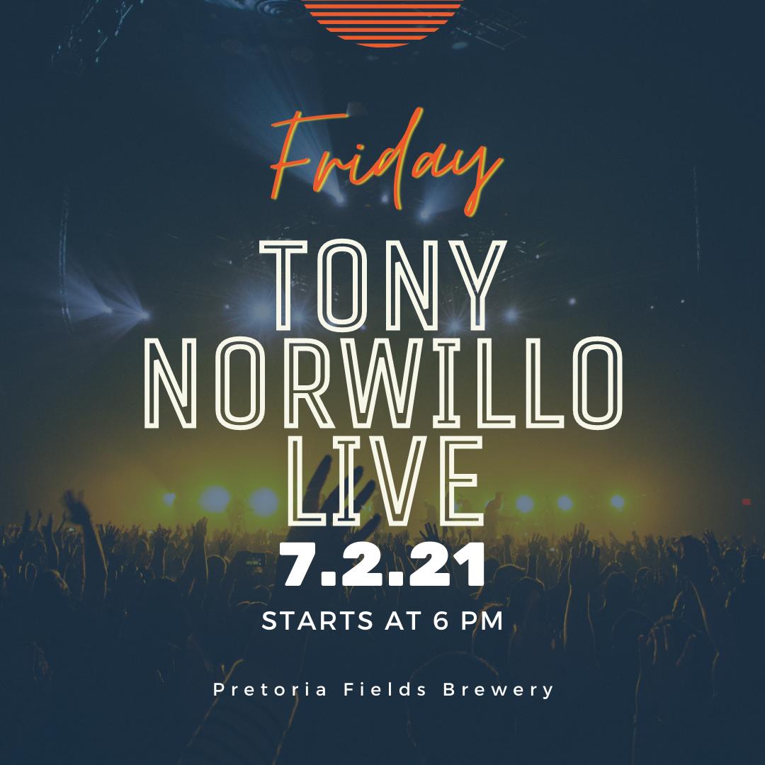 Tony Norwillo Live At Pretoria Fields