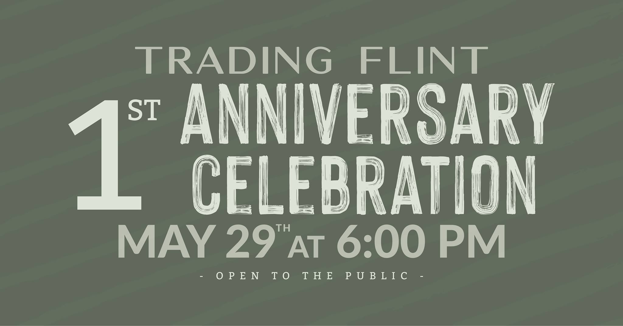 Trading Flint's 1st Annual Celebration